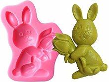 RG-FA - Stampo in silicone per dolci e dolci, uova