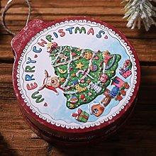 richingCAI Scatola di immagazzinaggio di Natale