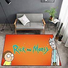 Rick and Morty 3D Tappeti Corridoio Tappeto Porta