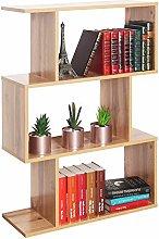 RICOO WM072-EW Scaffale 97 x 70 x 25 cm Libreria