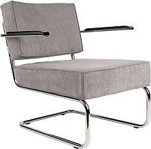 Ridge Rib sedia a sdraio con braccioli di colore