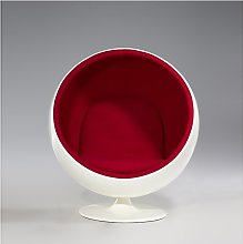 Riedizione poltrona ball chair di eero aarnio in