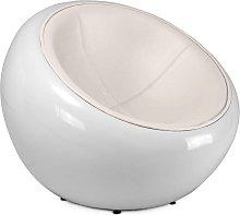 Riedizione poltrona egg pod ball chair di eero