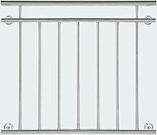 Ringhiera del balcone 90x100cm in acciaio inox