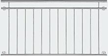 Ringhiera del balcone 90x156cm in acciaio inox