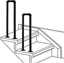 Ringhiera per scale a forma di U antiscivolo