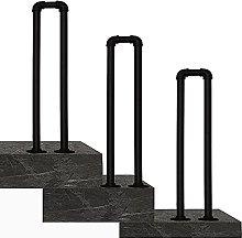 Ringhiera per scale esterne per corrimano in ferro