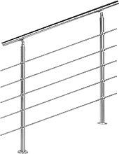 Ringhiera per scale in acciaio inossidabile