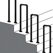 Ringhiera per scale in ferro battuto Corrimano