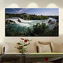 Rjyyll 5D Diamond Painting by Number Kit, Cascata