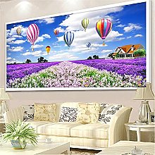 Rjyyll 5D Diamond Painting by Number Kit,