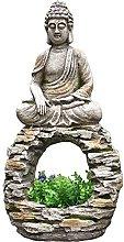 RNNTK Esterni Zen Budda Ornamento da Giardino Vaso