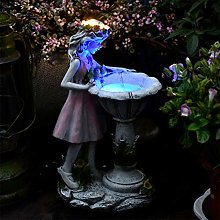 RNNTK Fata Ornamento da Giardino Resina Figurine,