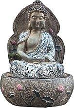 RNNTK Giardino Buddha Scultura Ornamenti Vaso di
