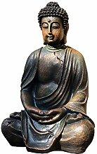 RNNTK Ornamento da Giardino Zen Buddha Scultura,