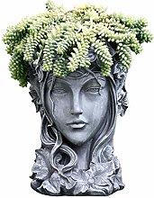 RNNTK Statua da Giardino Fioriera Vaso di Fiori,