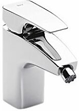 Roca A5A6150C00 - Bidet rubinetto cromato catena