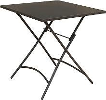 ROMANUS - tavolo in metallo pieghevole da esterno