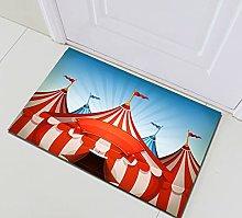 Rosso blu a strisce tenda Decorazione Della Casa