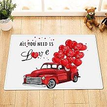 Rosso camion cuore palloncino Decorazione Della