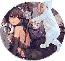 Rotondo Tappeto Anime Girl Cartoon 012 Tappeto