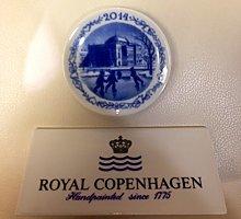 Royal Copenhagen / Placchetta di Natale 2014 /