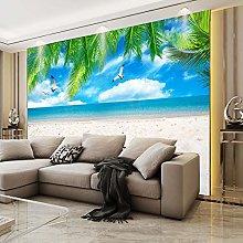 RTYUIHN 3d murale spiaggia mediterranea stella