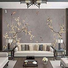 RTYUIHN 3d pittura murale meticolosa fiori e