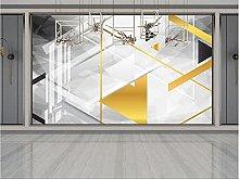RTYUIHN Carta da parati 3d murale geometrica