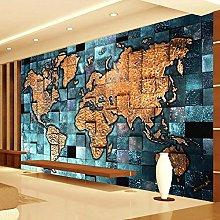 RTYUIHN Carta da parati 3d murale mappa del mondo