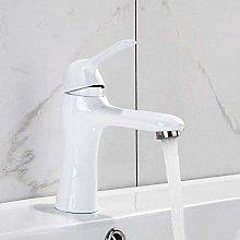 Rubinetti per lavabo Rubinetto per bagno bianco