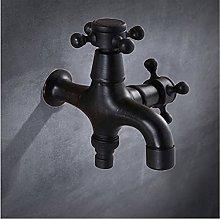 Rubinetto a parete in ottone rubinetto doppio uso