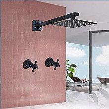 Rubinetto a pioggia per bagno a parete con