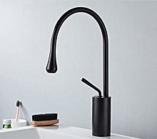 Rubinetto bagno moderno nichel/nero  rubinetto