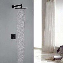 Rubinetto da parete doccia rubinetto nero Black