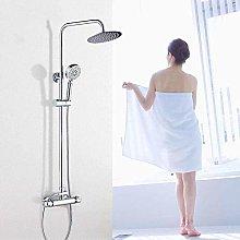Rubinetto doccia termostatico con doccia a parete