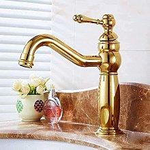 Rubinetto lavabo bagno monoforo/maniglia finitura