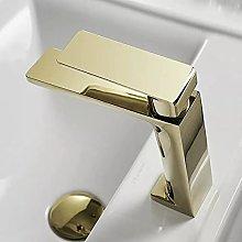 Rubinetto lavabo lavabo bagno rubinetto dorato