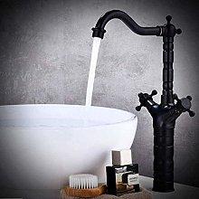 Rubinetto miscelatore rubinetto bagno alto bronzo