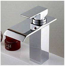 Rubinetto monocomando moderno per lavabo con bocca