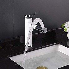 Rubinetto Per Acqua Elegante Bagno In Rame Bianco