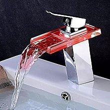 Rubinetto per bagno a LED Rubinetto per lavabo
