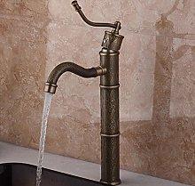 Rubinetto per bagno alto Miscelatore per lavabo da