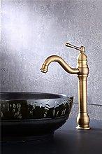 Rubinetto per bagno finitura bronzo nero lavabo