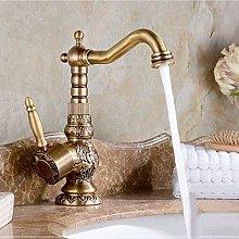 Rubinetto per bagno in ottone antico con beccuccio