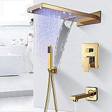 Rubinetto per doccia a cascata a pioggia per bagno