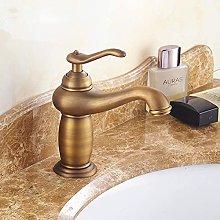 Rubinetto per lavabo a foro singolo con rubinetto