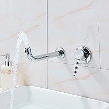 Rubinetto per lavabo da bagno in oro spazzolato