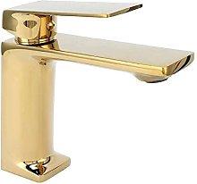 Rubinetto per lavabo dorato Rubinetto per acqua