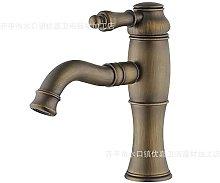 - Rubinetto per lavabo in rame rubinetto per bagno